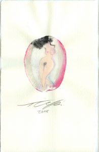nackte Frau zeicnung grafik bild gemählde Kunstdruck