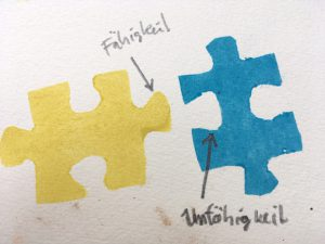 Puzzleteile fähikeiten Beuys