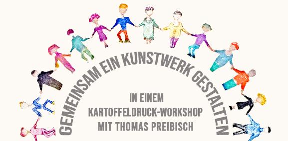 workshop teambuilding dresden kunst zusammen gemeinsam malen kartoffeldruck