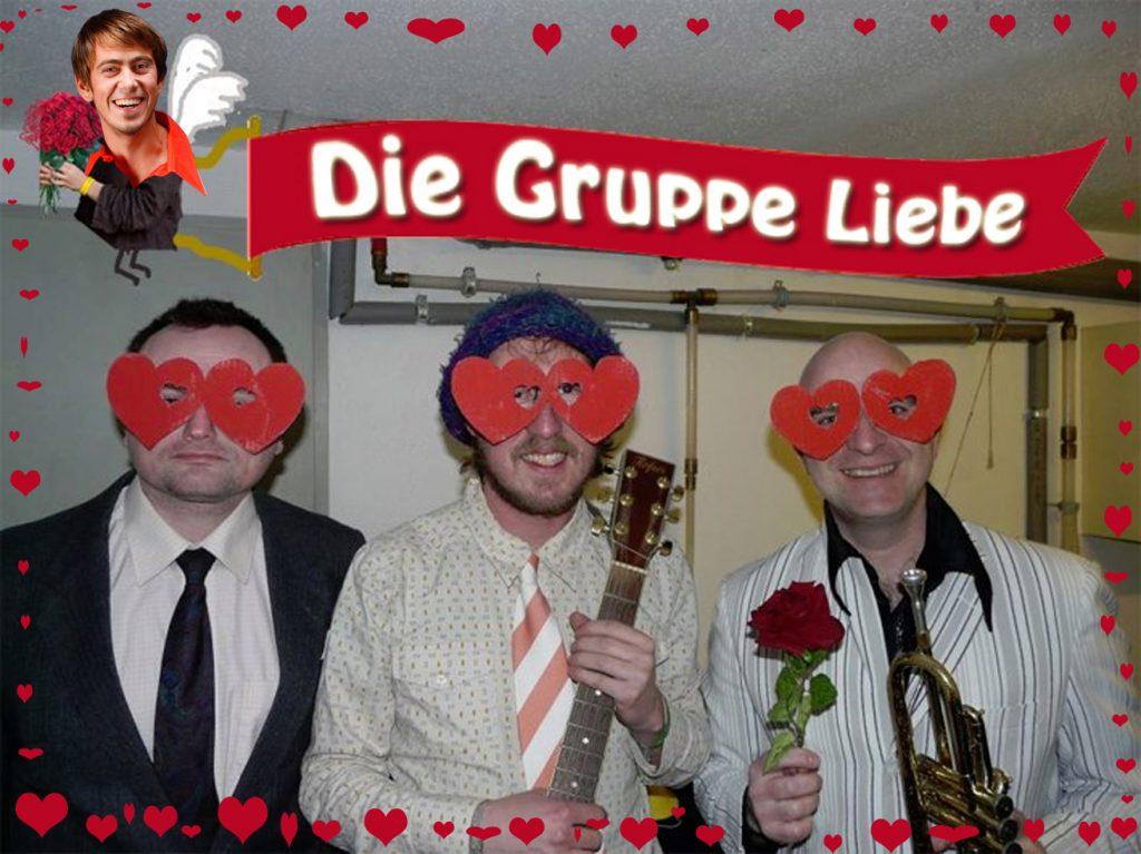die Gruppe Liebe macht Musik Gruppeliebe neubesetzung